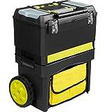 LCSA XL Werkzeugtrolley leer Werkzeugkoffer Werkzeugkasten Werkzeugwagen mit Rollen