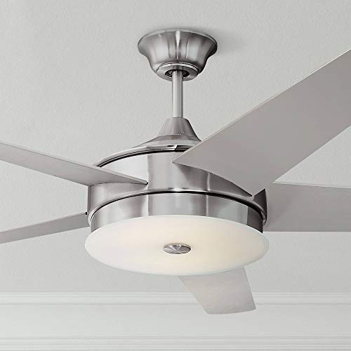 "60"" Edge Modern Ceiling Fan with Light LED"