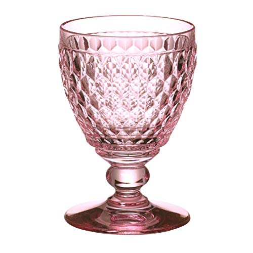 Villeroy & Boch Boston gekleurde rode wijnglas Rose, kristalglas, 132mm