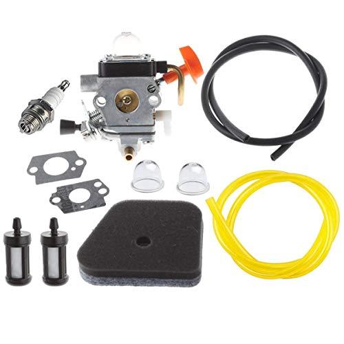 Hippotech Vergaser für Stihl FS100R FS110 FS110R FR130T FS130 FS130R Heckenschnurschneider
