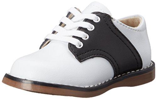 FootMates Unisex Cheer 3 (Infant/Toddler/Little Kid) White/Black Oxford 9 Toddler M/W
