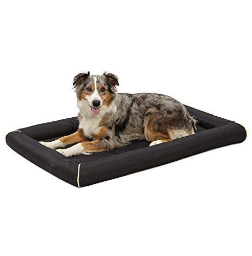 Midwest Ultra-Durable Dog Bed & Crate Mat, 42u0022, Black