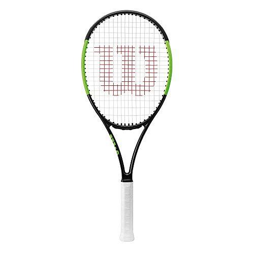 Wilson Damen/Herren-Tennisschläger, Attacker, Anfänger bis Profis, Blade 101L, Größe 3, schwarz/grün, WRT73380U3