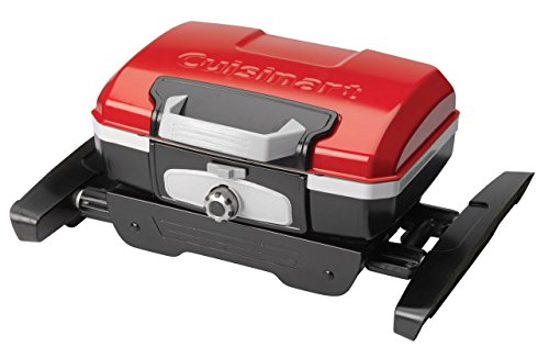 Cuisinart CGG-180 Petit Gourmet Portable Gas Grill with VersaStand 4