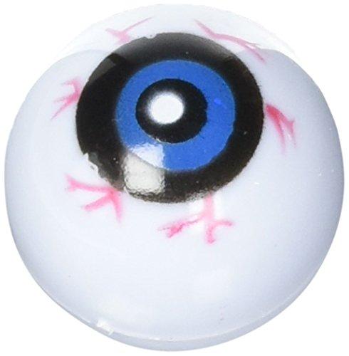 12 Hollow Plastic Eyeball Balls