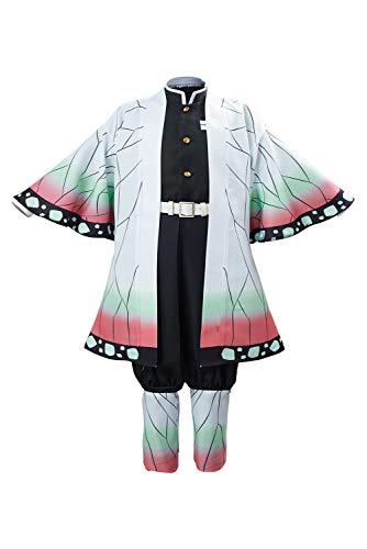 SETHOUS Demon Slayer Nezuko Cosplay Costume Nezuko Kamado Uniform Outfit Anime Kimono per Bambini Shinobu M
