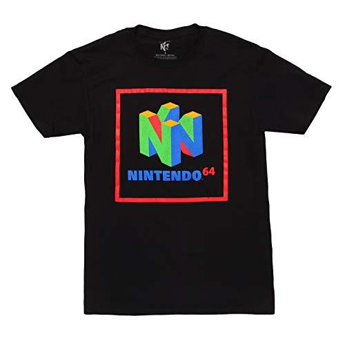 Nintendo 64 Element - Maglietta da adulto -  Nero -  XX-Large