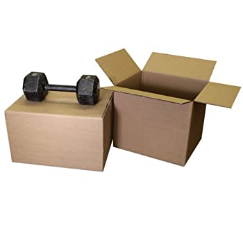Heavy Duty Moving Boxes 1.75 Cubic Space 18x14x12   Pack of 10 Only by The Boxery