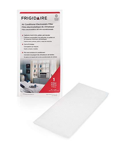 "Frigidaire 18FFRACF01 Air Conditioner Filter, 15"" x 24"", White"