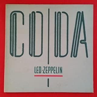 LED ZEPPELIN Coda LP Vinyl VG+ Cover VG++ GF Sleeve 1982 Swan Song 90051