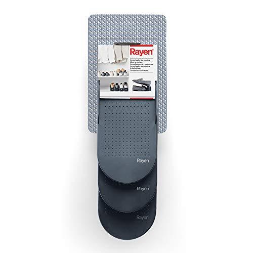 Rayen | Organizador de zapatos | 3 unidades | Superficie antideslizante | Medidas: 25 x 6,5 x 26 x 13 x 10 cm