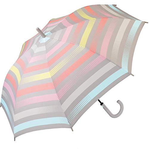 Esprit Stockschirm Long AC Summer Stripes - Pastel