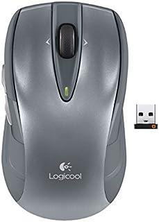 Logicool ロジクール ワイヤレスマウス シルバー M545SV