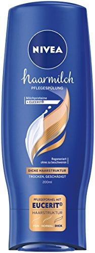 Nivea haarmilch Pflegespülung für dicke Haarstuktur, 6er Pack (6 x 200 ml)