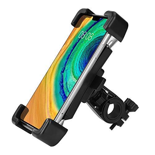 Fahrrad Handyhalterung Universal 360° Drehbare Anti-Shake Mountainbike Telefonhalter für 4.5-7.2 Zoll Smartphone