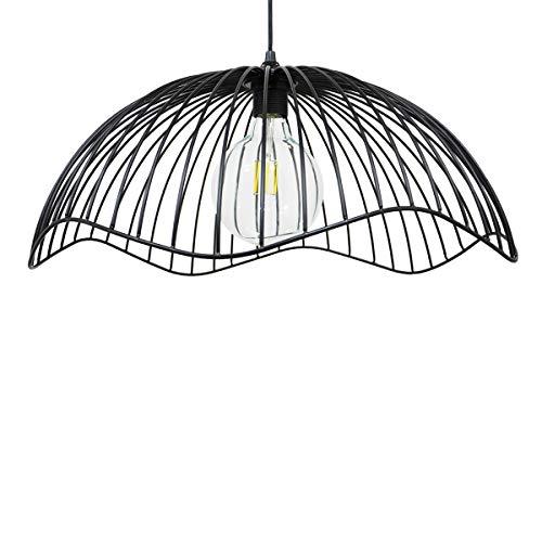 C-Création SALARO - Lámpara de techo escandinava con cable de metal