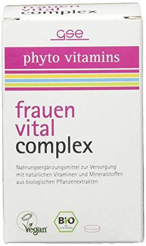 GSE Frauen Vital Complex (BIO), 60 Tabletten, 1er Pack (1 x 30 g)