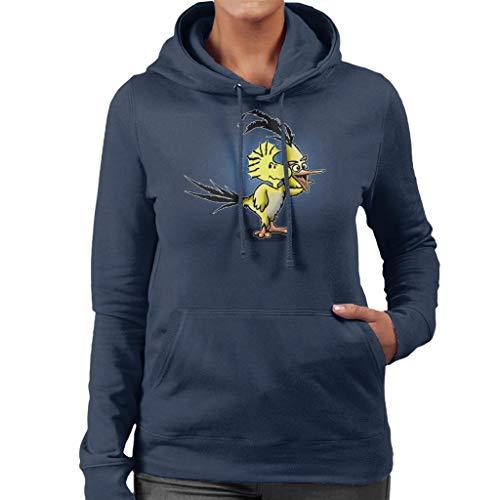 Cloud City 7 The Wrath of Woodstock Peanuts Birds Parody Sweatshirt met capuchon voor dames