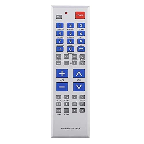 Universele vervangende tv-afstandsbediening voor verschillende modellen tv's, televisie met afstandsbediening met kinderslotfunctie, vervangende afstandsbediening