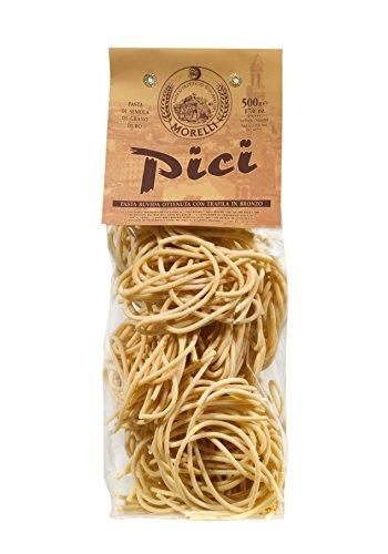 Antico Pastificio Morelli - Pici de la Toscana (500 g) - harina de trigo duro Pasta - 3 paquetes Paquete (3 x 500g)