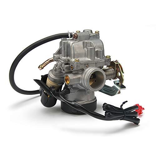 Remlocación de carburador CVK26 CVK de 26 mm, se adapta a todas las motos scooters ATV GY6 150-250CC 200CC Moto Universal Dirt Bike