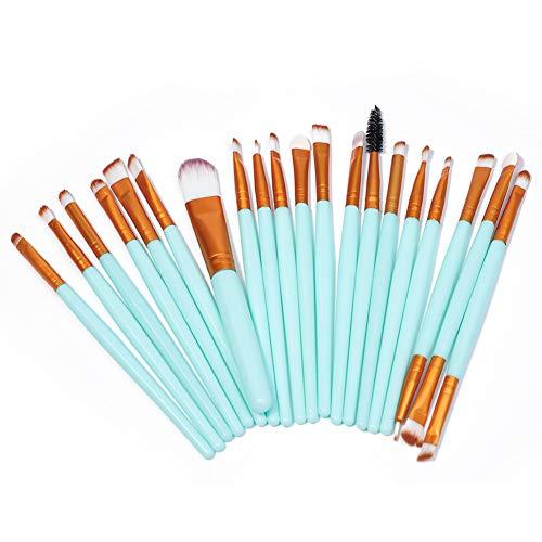 20Pcs Makeup Brush Set Professional Eye Makeup Brushes Blending Face Powder Blush Concealers Eyelash Eyeshadow Foundation Eyeliner Lip Brow Cosmetic Beauty Brush Tool Kit(Small makeup brush)