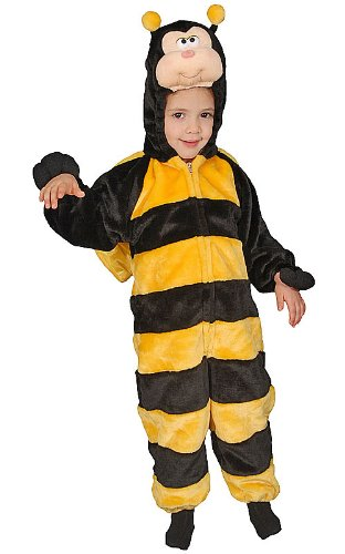 Dress up America Disfraz de Abejita Buzzy para niños Bumble Miel Avispa Objeto de Bug Cape también Disponible