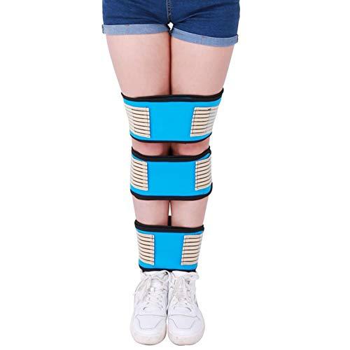 TWL LTD Artefacto de Cinturón de Corrección de Pierna Cinturón de Corrección de Forma de Pierna O-Leg X-Leg Leggings de Corrección con Correas para Piernas1, XL, azul2, XXL