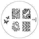 KONAD-Placa de diseños para Stamping: m78