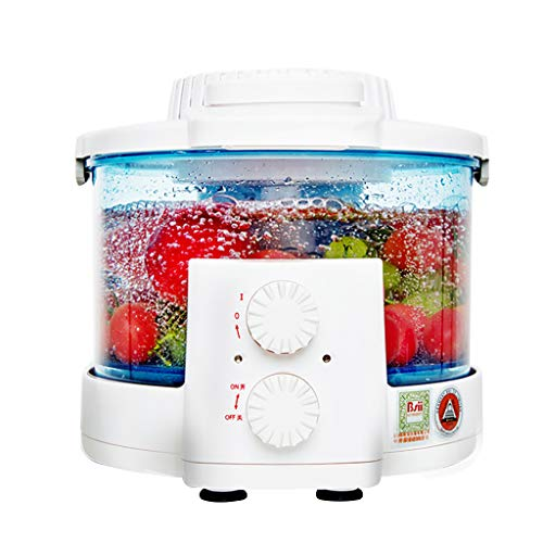 LIU UK Food Purifier MáQuina De Limpieza De Alimentos Cocina Casera Ozono Disinfector Temporizador Frutas Verduras Desinfectante Inteligente Totalmente AutomáTico - Azul