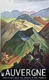 Unbekannt Poster Auvergne sncf Reproduktion, 50 x 70 cm,
