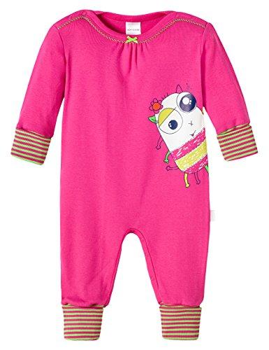 Schiesser Baby - Mädchen Zweiteiliger Schlafanzug 146178, Gr. 62, Rot (Pink 504)