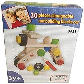 30 Pieces Changeable nut building clocks car