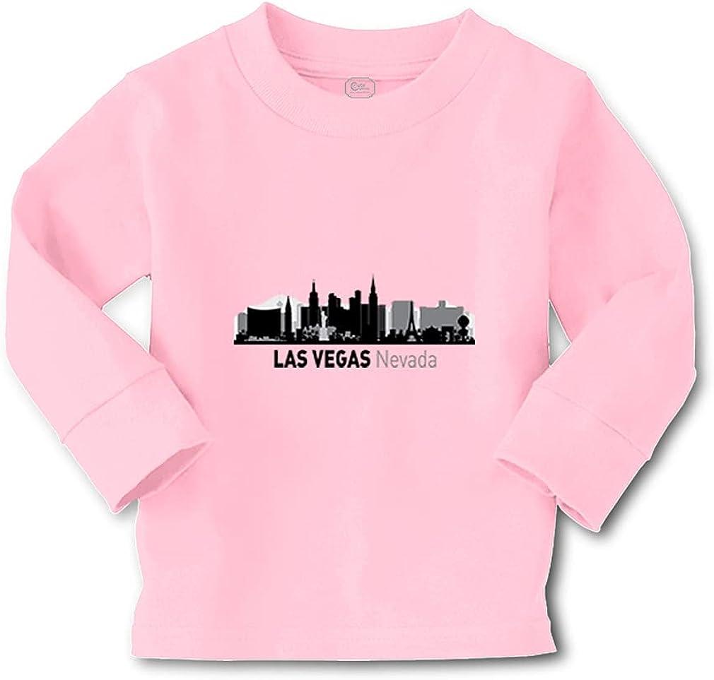Kids Long Sleeve T Shirt Las Vegas City Pride Holidays Girls & Boys Clothes