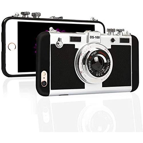 YOYOTECH La Funda para teléfono móvil Emily in Paris es Adecuada para iPhone 12 12 Mini Pro Max3D Funda de Silicona con diseño de cámara Vintage con Correas largas, Adecuada para teléfono móvil UY8