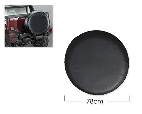 DSstyles Housse de pneu Housse de roue de rechange de 30 pouces Housse de pneu pour voiture - Noir