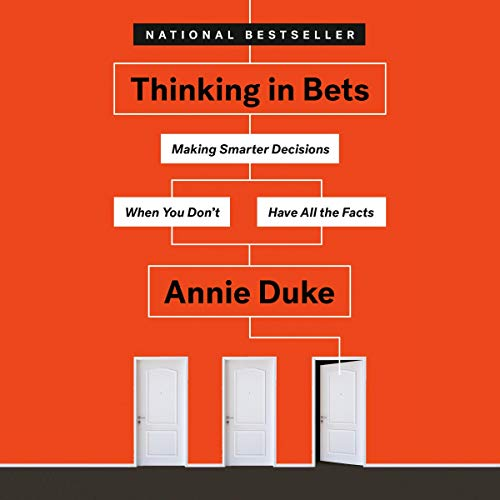 Couverture de Thinking in Bets