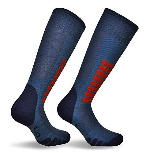 Eurosocks Ski Supreme Sock, Denim, Medium