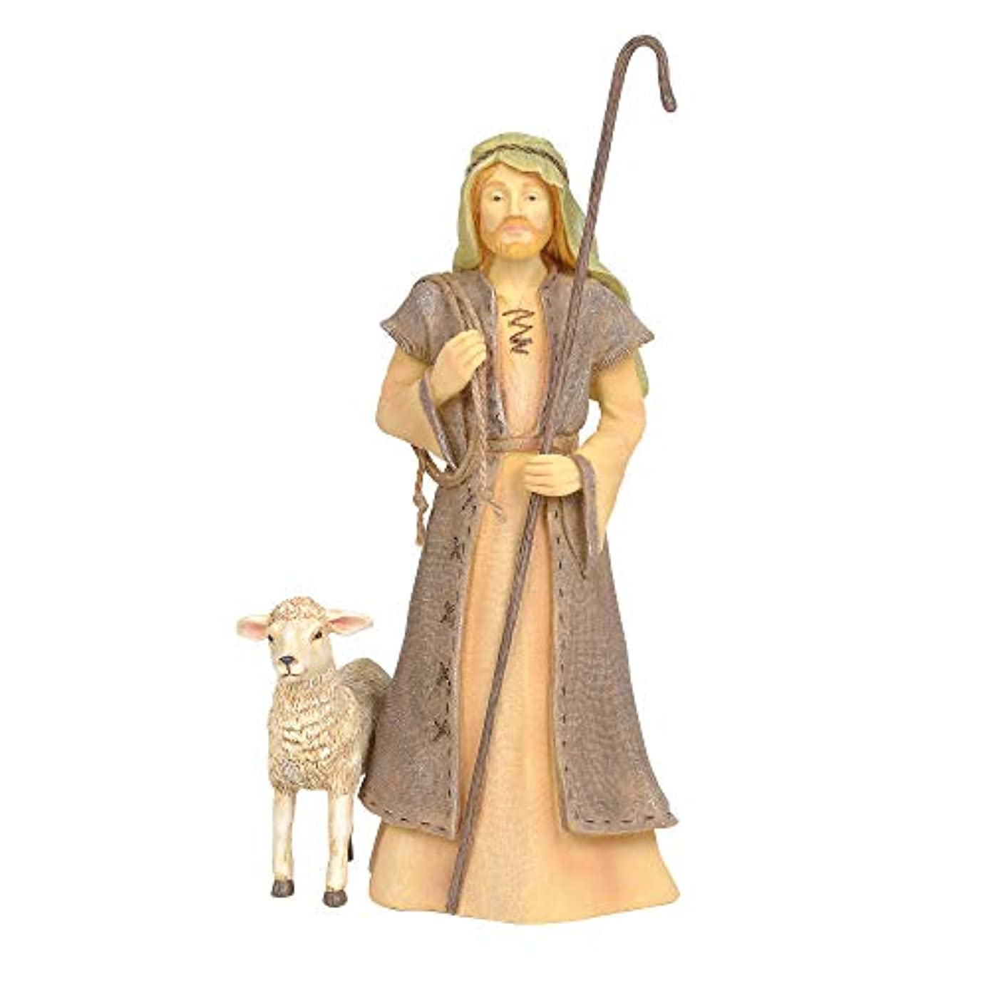 Enesco Foundations Nativity Shepherd Figure, 10.5
