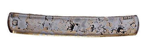 Caravan Barrette rectangulaire peinte à la main automatique française 8908