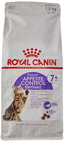 Royal Canin Feline Sterilised +7 Appetite Control, 1er Pack (1 x 1,5 kg)