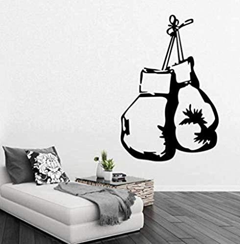 Boxhandschuh für Mann Dekoration für zu Hause Schlafzimmer Wandtattoo Aufkleber Sportzimmer Wandaufkleber dekorativ