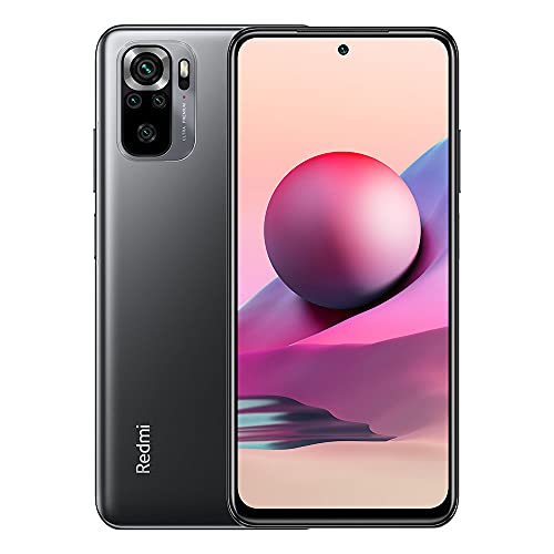 Redmi Note 10s | 128GB 6GB RAM | Factory Unlocked (GSM ONLY | Not Compatible with Verizon/Sprint/Boost) | International Model (Onyx Gray)