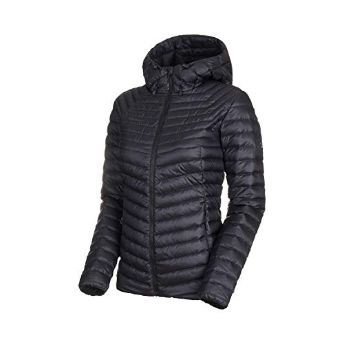 Mammut Damen Convey Hooded Daunenjacke, Black-Phantom, M