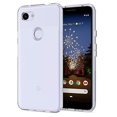 Spigen Cover Liquid Crystal Compatibile con Google Pixel 3a - Crystal Clear