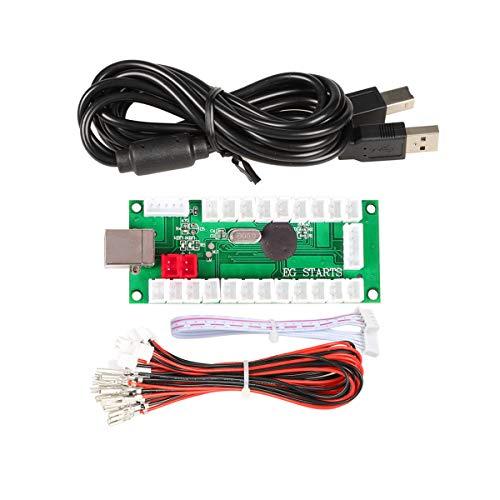 IGames Cero Delay USB Codificador a PC Juegos Mandos Para Arcade Sanwa Kits...