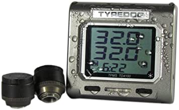 タイヤドッグ TPMS タイヤ空気圧温度測定センサー バイク用 TD4100-X TD4100-X