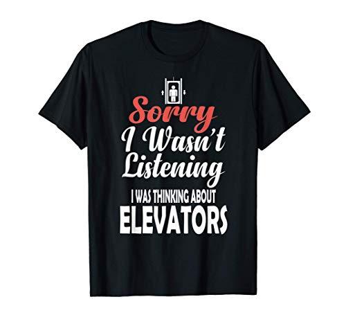 Regalos para técnicos de ascensores Mecánico de ascensores Camiseta