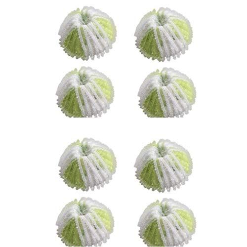 Casinlog 8 Stück Haustierhaarentferner wiederverwendbar Haartrockner Ball Haustier Waschbälle für Wäsche Waschmaschine Zubehör