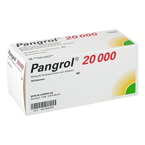 PANGROL 20.000 magensaftresistente Tabletten 100 St